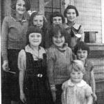 1936 - Pearl Buck- ? Nord-unkown-Joyce Chrysler-2-Sigrid Nord-Elsie Slattery-Ednice Chrysler-Dorothy Chrysler