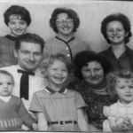 L-R back row, Carol, Sharon, Faye Center row, Tony Sr and Mary Front row, Tony Jr, Marilyn and Brenda