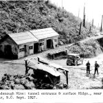 Goodenough Mine: tunnel entrance and surface buildings Sept 1927