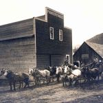 1900 - Pioneer Stables Main Street