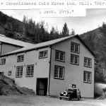 Ymir Consolidated Gold Mines Ltm Mill Ymir BC Sept 1935